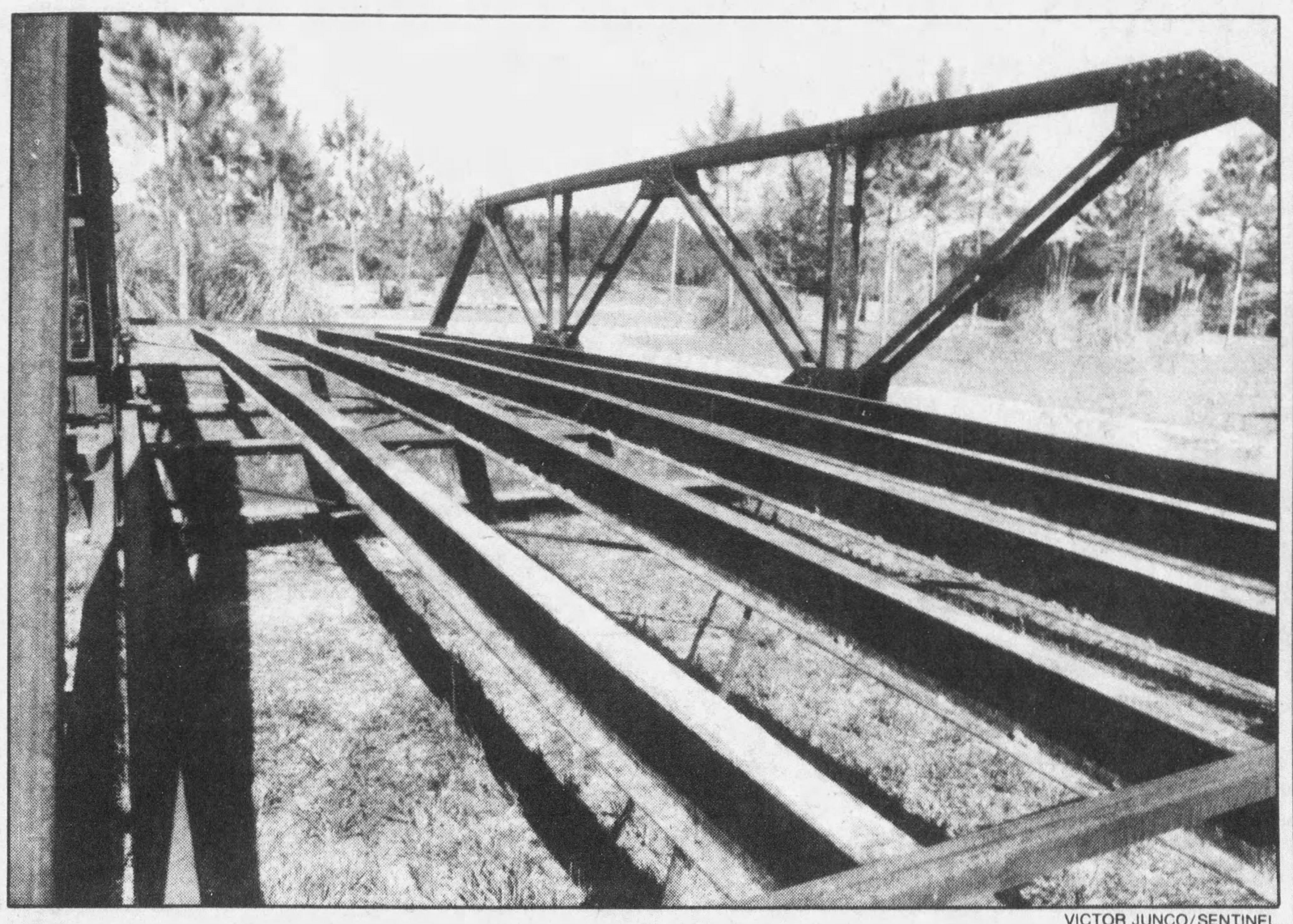 The Okahumpka Bridge Before it was moved