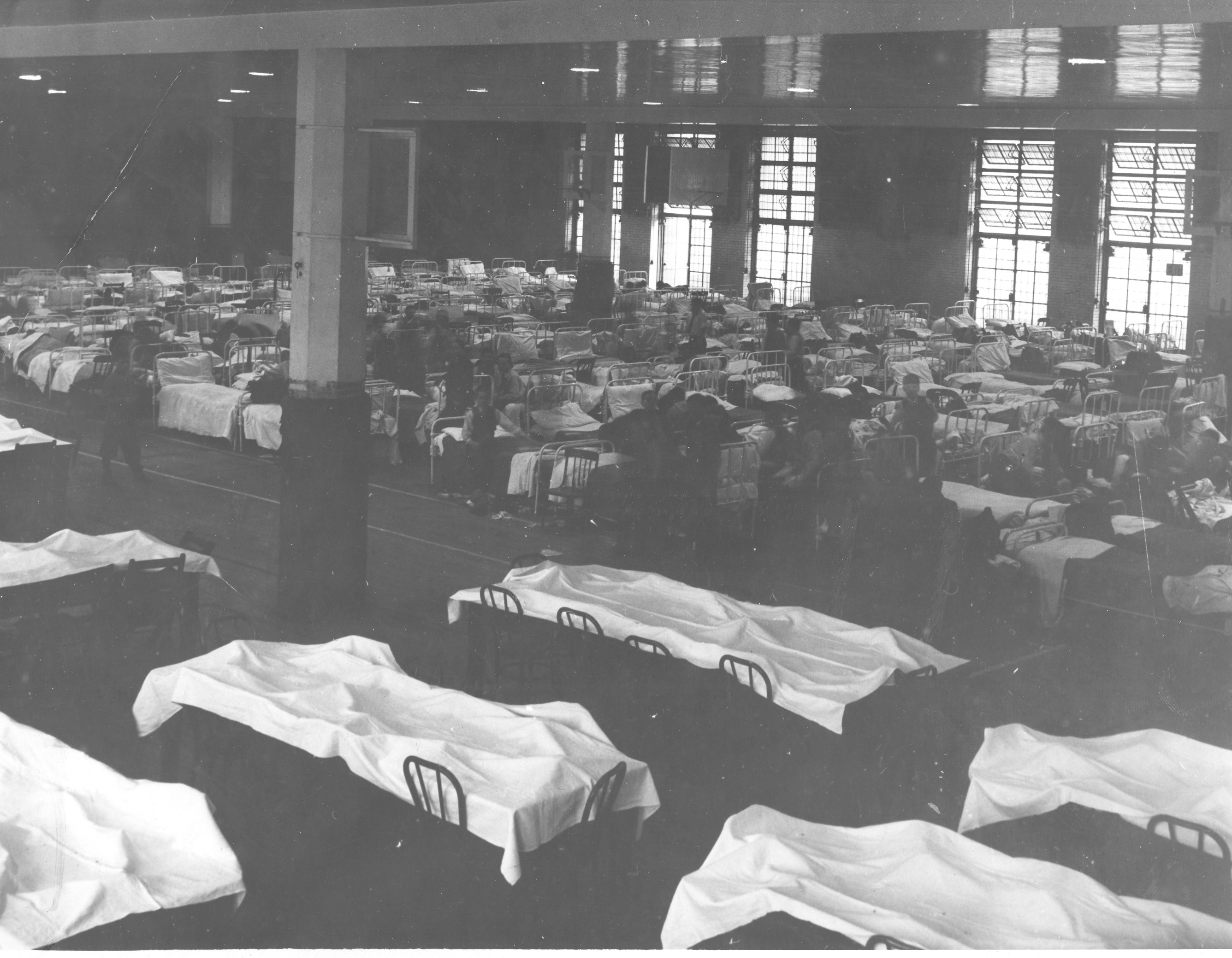 Scarlet Fever quarantine in Armory, March 1939