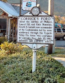 WV Historical Marker in Parsons