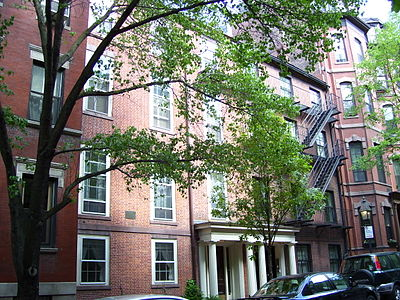 Charles Sumner's dad bought this house in Boston, Massachusetts in 1830 and Charles continued to live here until 1867.