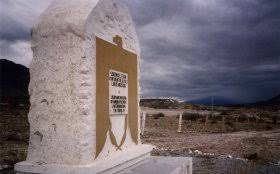 The Battle of Buena Vista monument. It is located where the battle was fought.