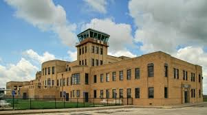 The Kansas Aviation Museum is located in the former Municipal Airport Building, which was built in 1935.