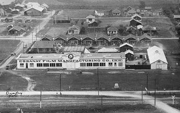 The Essanay Studios in Niles, 1913.