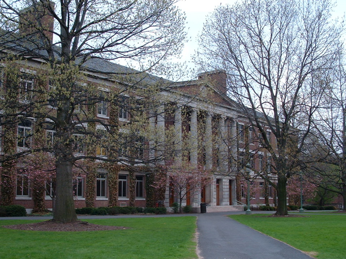 Picture of Monroe Hall from https://www.flickr.com/photos/lgomez/38140982.