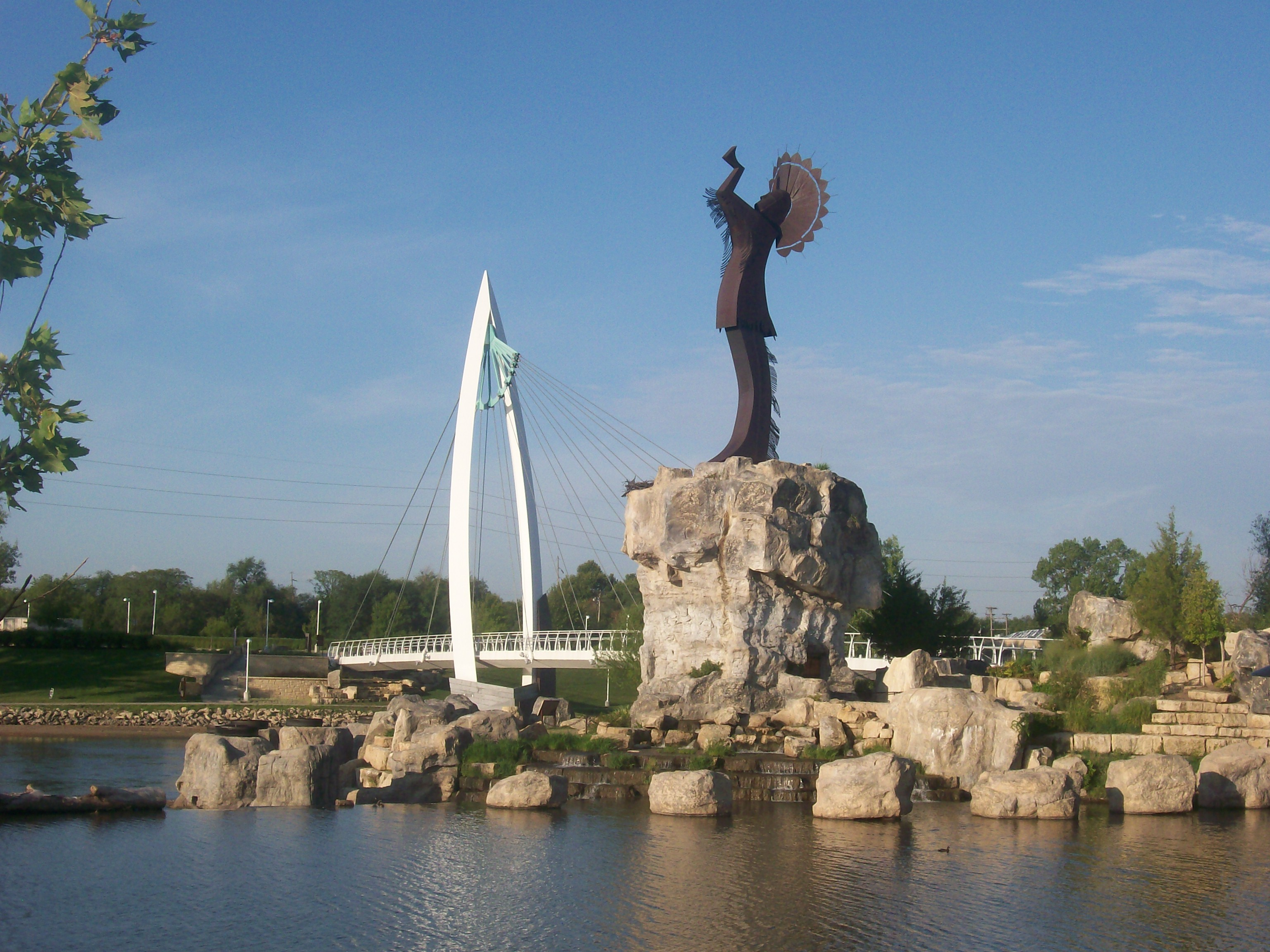 From its creation in 1974, the Keeper of the Plains has become the symbol of the city of Wichita.