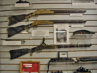 "These Morse Carbine manufactured in Greenville, SC during what the museum refers to as the ""War for Southern Independence."""
