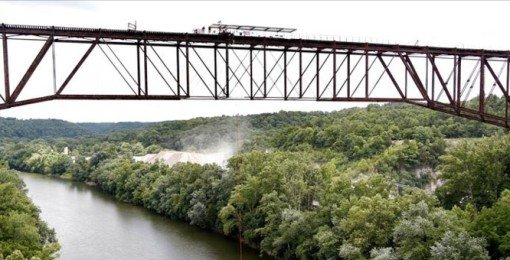 The famous Youngstown High Bridge.