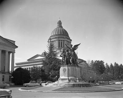 Winged Victory Monument, 1951.
