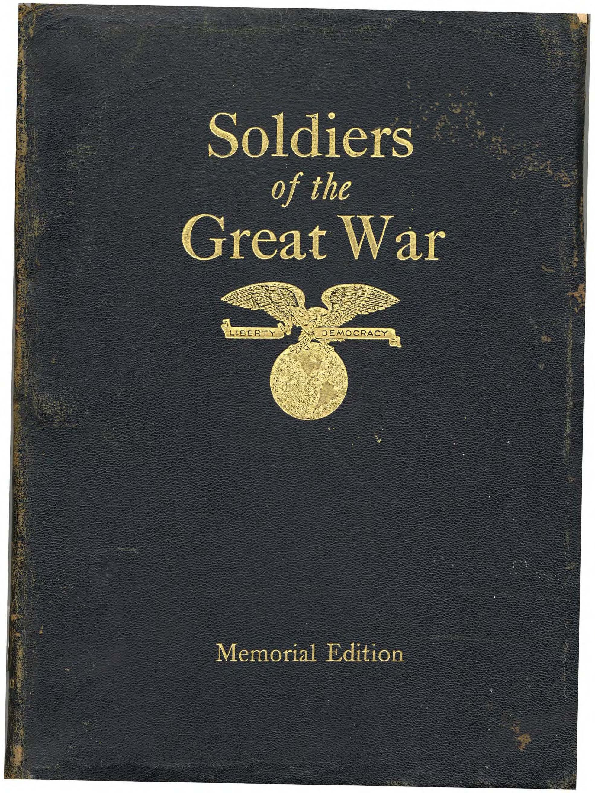 WWI Casualty List with Service Members Picture  