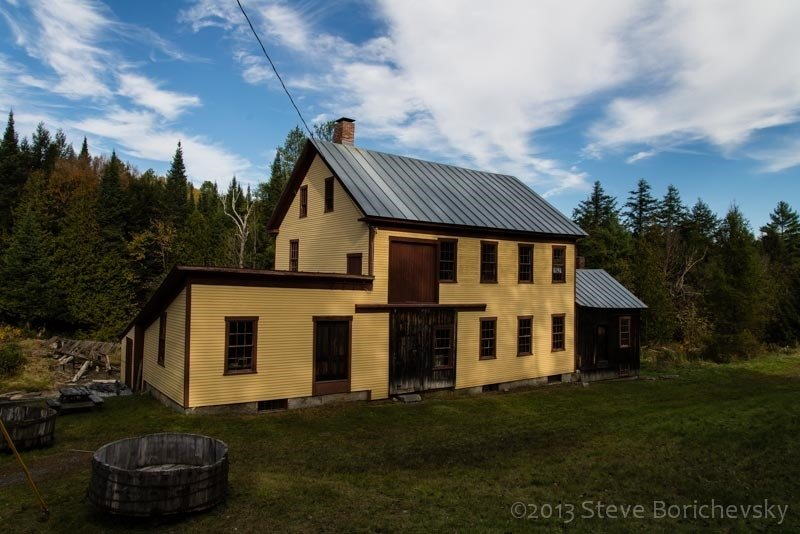 Ben's Mill has sat along the Stevens River since 1872 and its restoration efforts began in 2000.