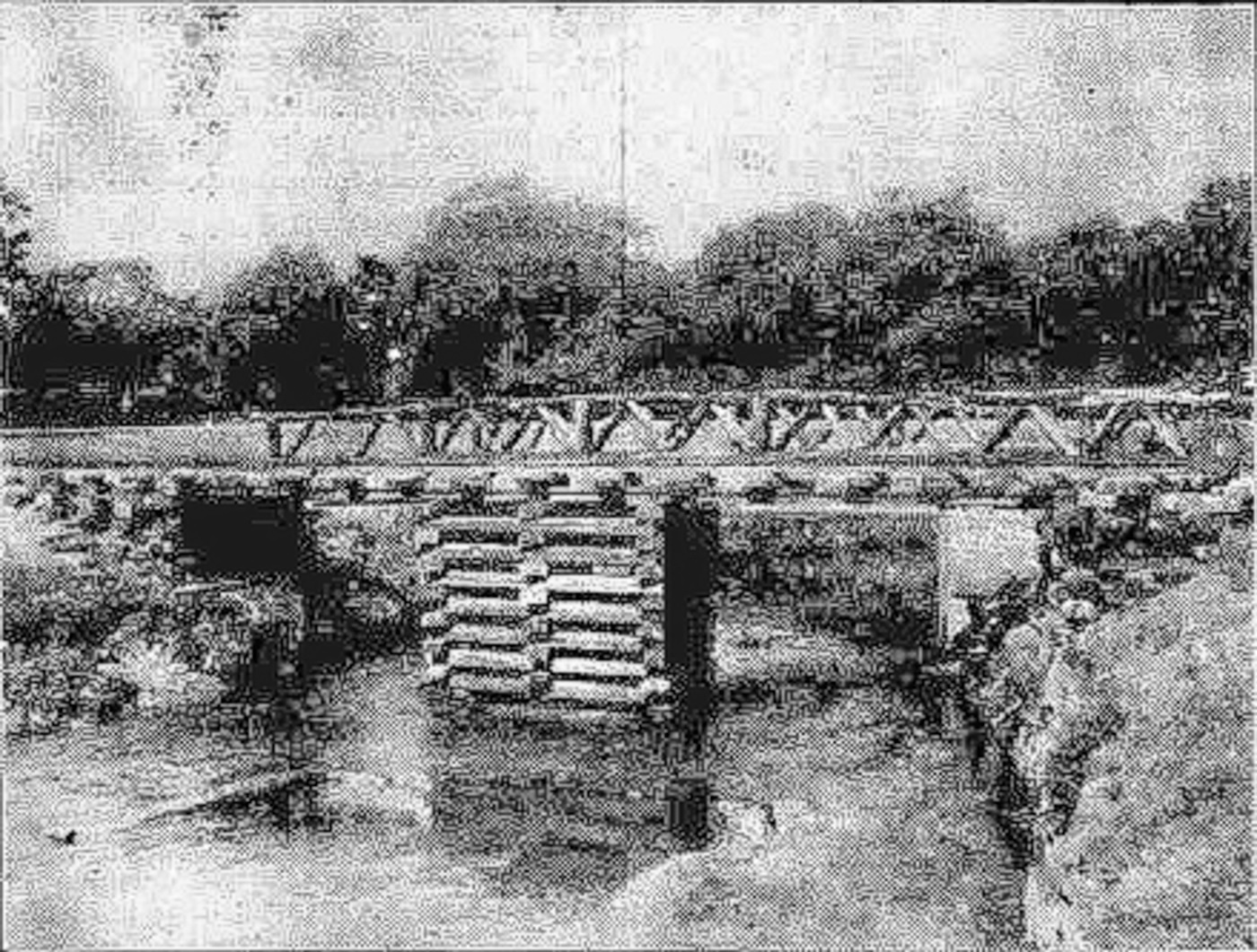 Witham railway bridge 1914
