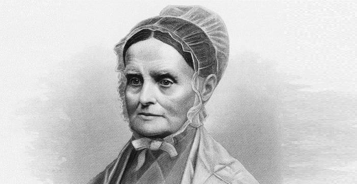 Lucretia Mott was a Quaker and strong abolitionist who lived in the La Mott village, giving the community its name.