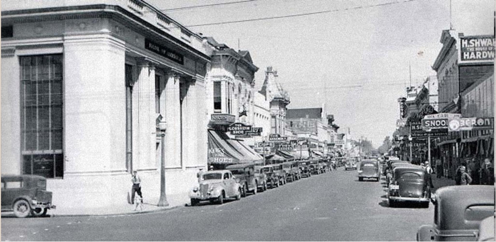 Historic Downtown Napa