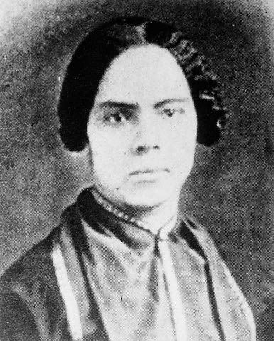 Mary Ann Shadd Cary, (October 9, 1823 in Wilmington, Delaware - June 5, 1893 in Washington, D.C.), was an activist, writer, teacher, and a lawyer who dedicated her life to the cause of abolition of slavery and women's rights. After moving to Ontario, Canada, she opened an interracial school, until later when she became an editor in the newspaper Provincial Freeman.