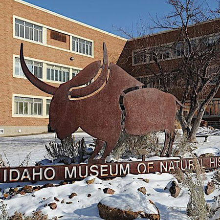 The Museum is located on the campus of Idaho State University, east of the intersection of 5th Avenue and Dillon Streets in ISU Building 12.