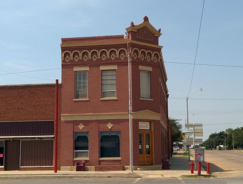 The First National Bank in Erick, OK dates to 1907.