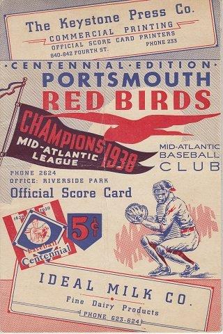 Portsmouth Redbirds program