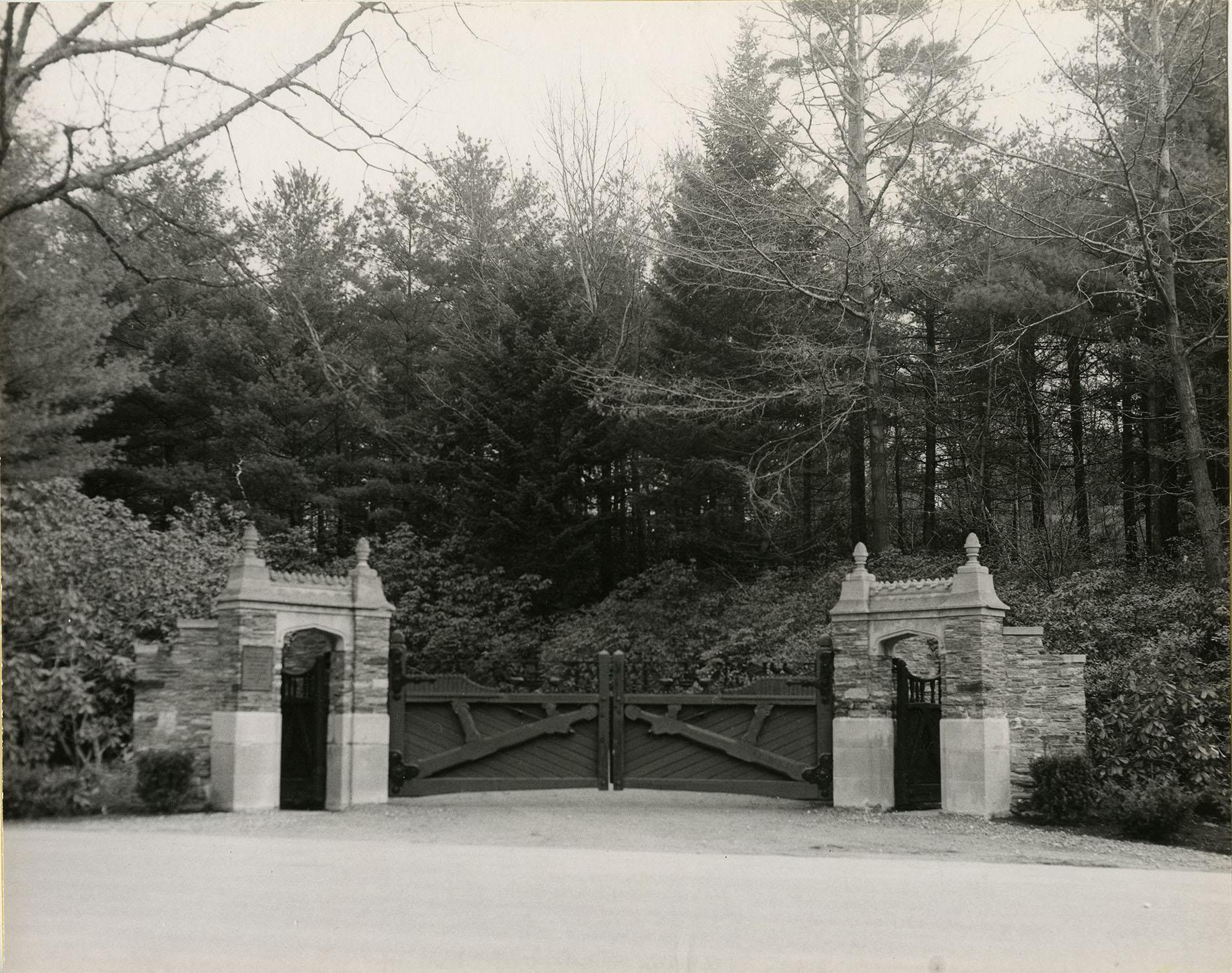 Moncrieff Cochran Sanctuary gate