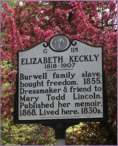 Elizabeth Keckly historic marker