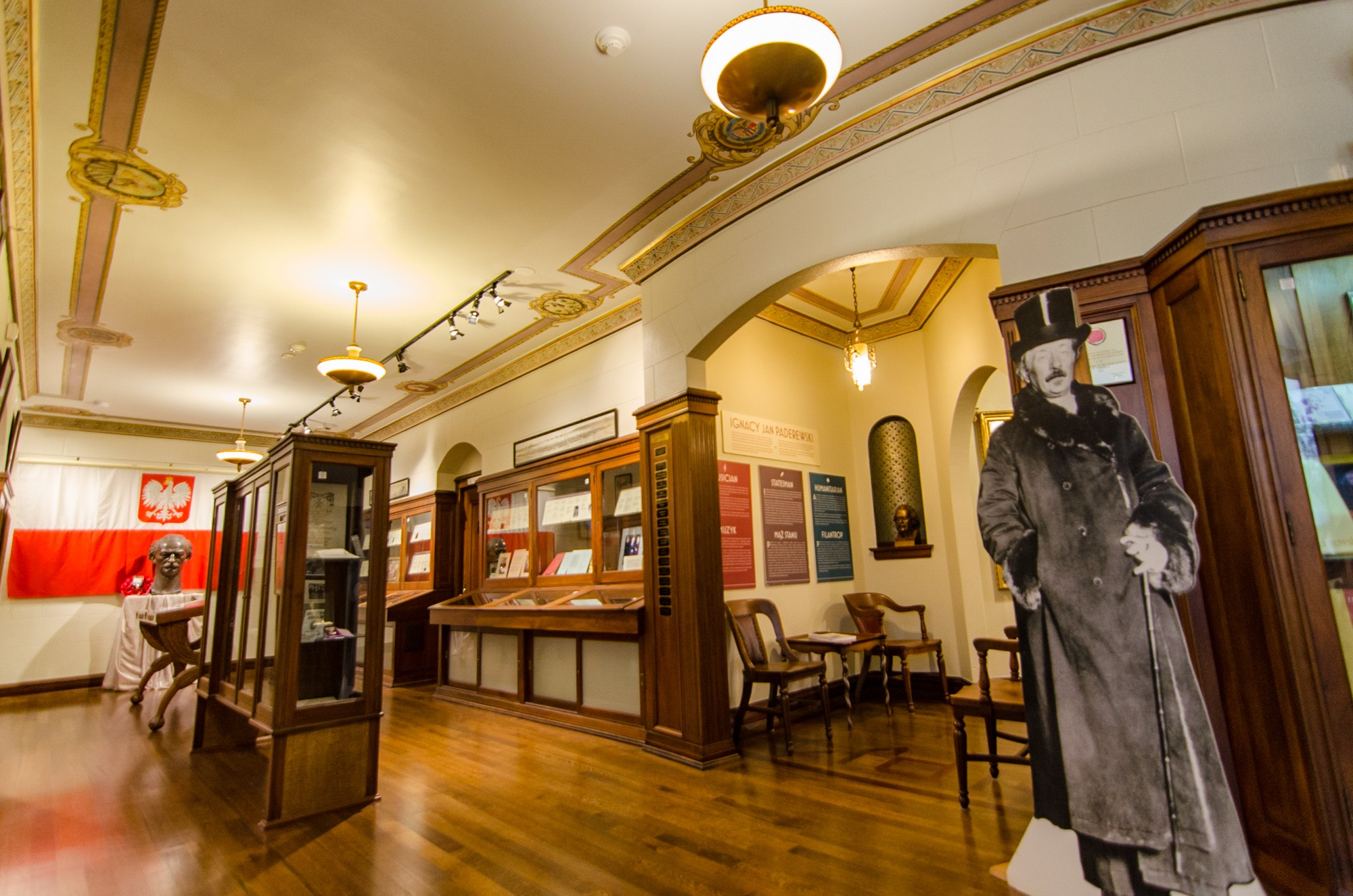 The museum has accumulated thousands of items relating to Polish history and culture over the years. Image obtained from Open House Chicago.