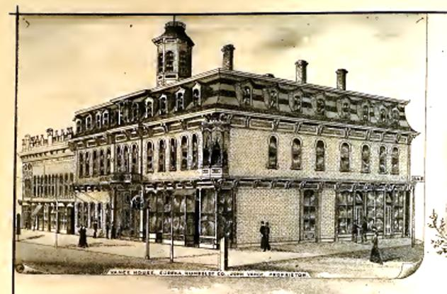 The Vance Hotel building (1881)