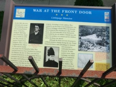 War At The Front Door Marker
