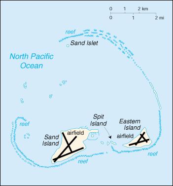 Sand and Eastern Island