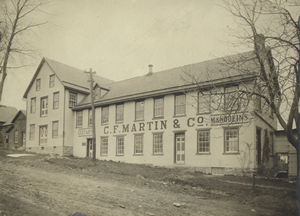 The old factory on North Street, 1912