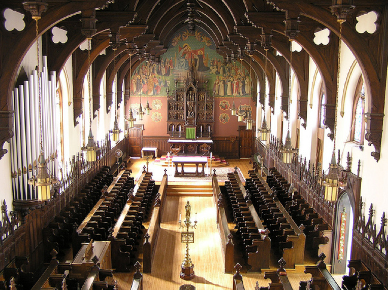 Current interior of the Chapel