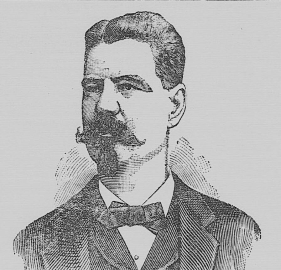 Illustration of Mr. Frank Hume, Candidate for House of Delegates from Alexandria