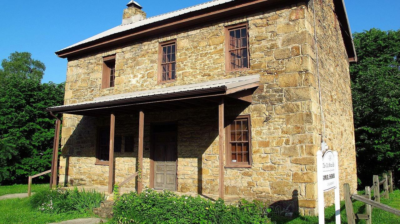 Samuel Shrewsbury house in Belle, WV