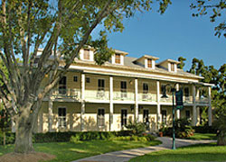 One of six historic buildings in the village, this 1905 hotel was the first property in Broward County to be listed on the National Register of Historic Places.