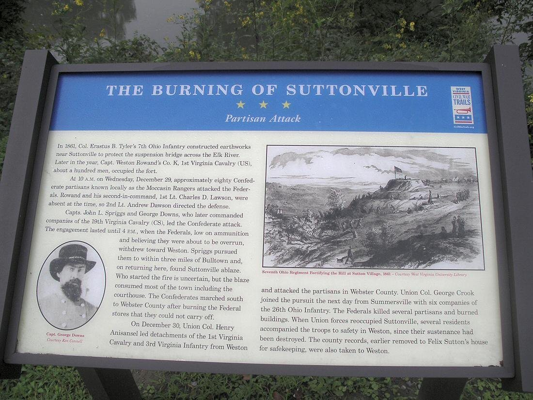 A photo of the plaque itself.