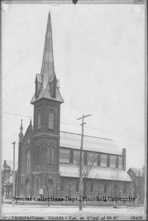 First Congregational Church, circa 1900
