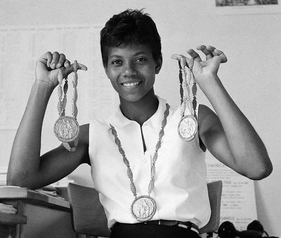 Wilma Rudolph became the first woman to win three gold medals at a single Olympic games in 1960