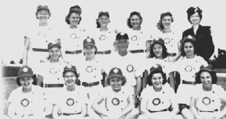 1948 Chicago Colleens team picture