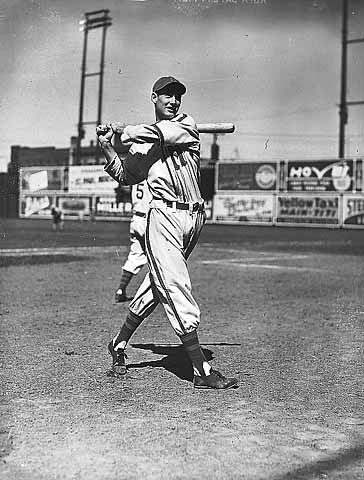 Ted Williams at Nicollet Park, 1938