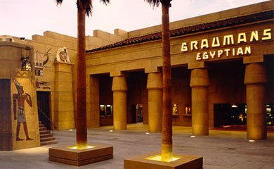 The Egyptian Theatre today.
