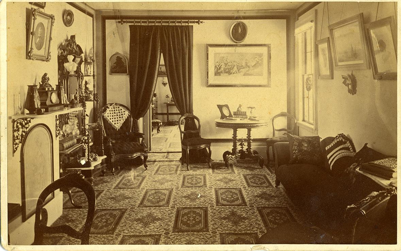 Draper Hall, McKeen Parlor, circa 1891