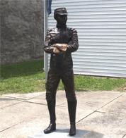 Funston statue (Allen County Historical Society)