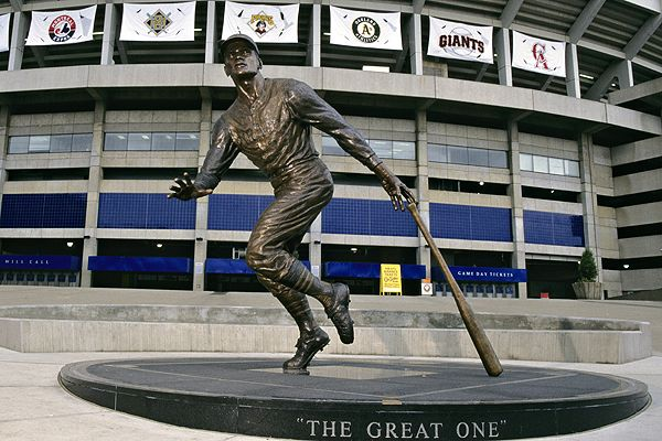 The Statue outside PNC Park