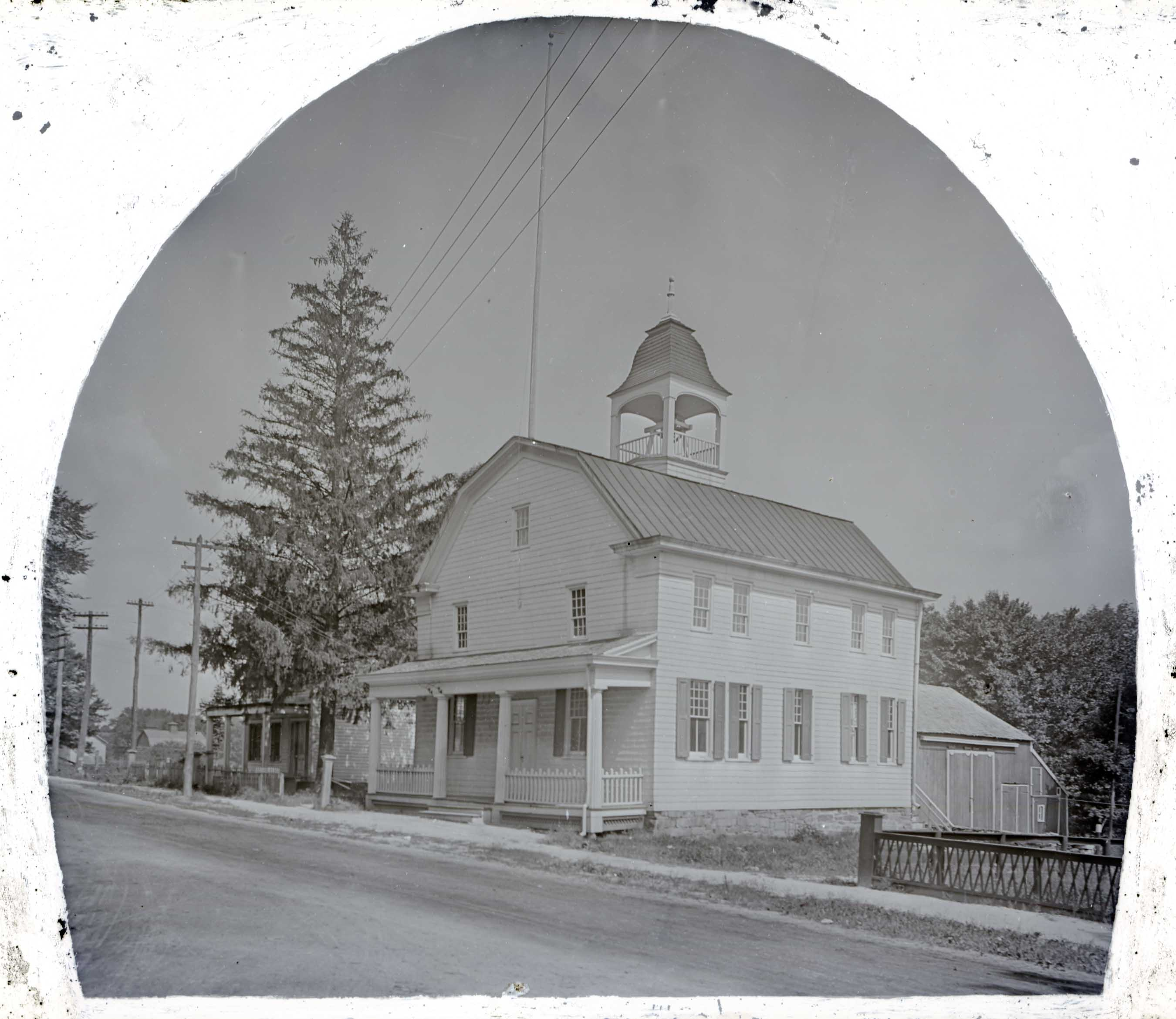 Bedford Court House in 1908.