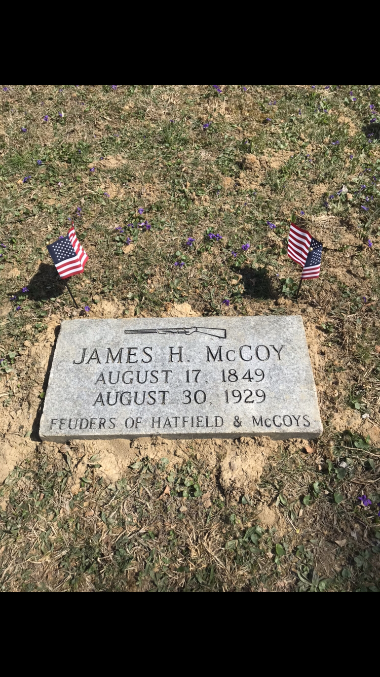 James H. McCoy grave in Catlettsburg Cemetery