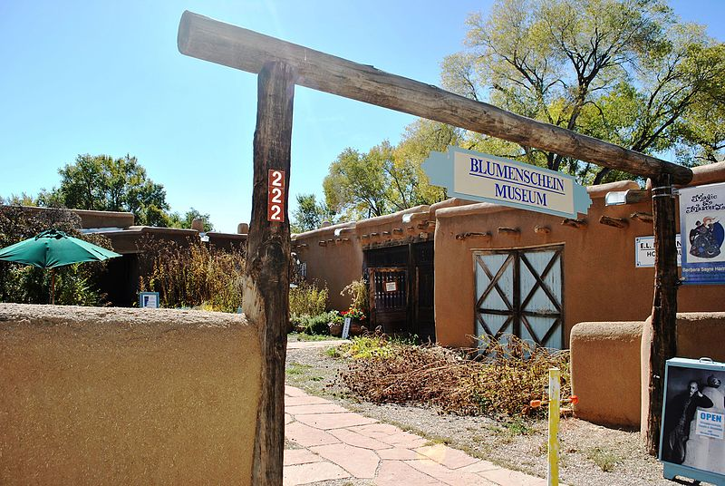The Spanish Pueblo-style home where Blumenschein produced some of his greatest artwork.