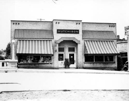 The exterior of Hutchison Studio, taken July, 10, 1936, by R. R. Hutchison. Courtesy WSU Special Collections. http://content.libraries.wsu.edu/cdm/singleitem/collection/hutchison/id/4/rec/1