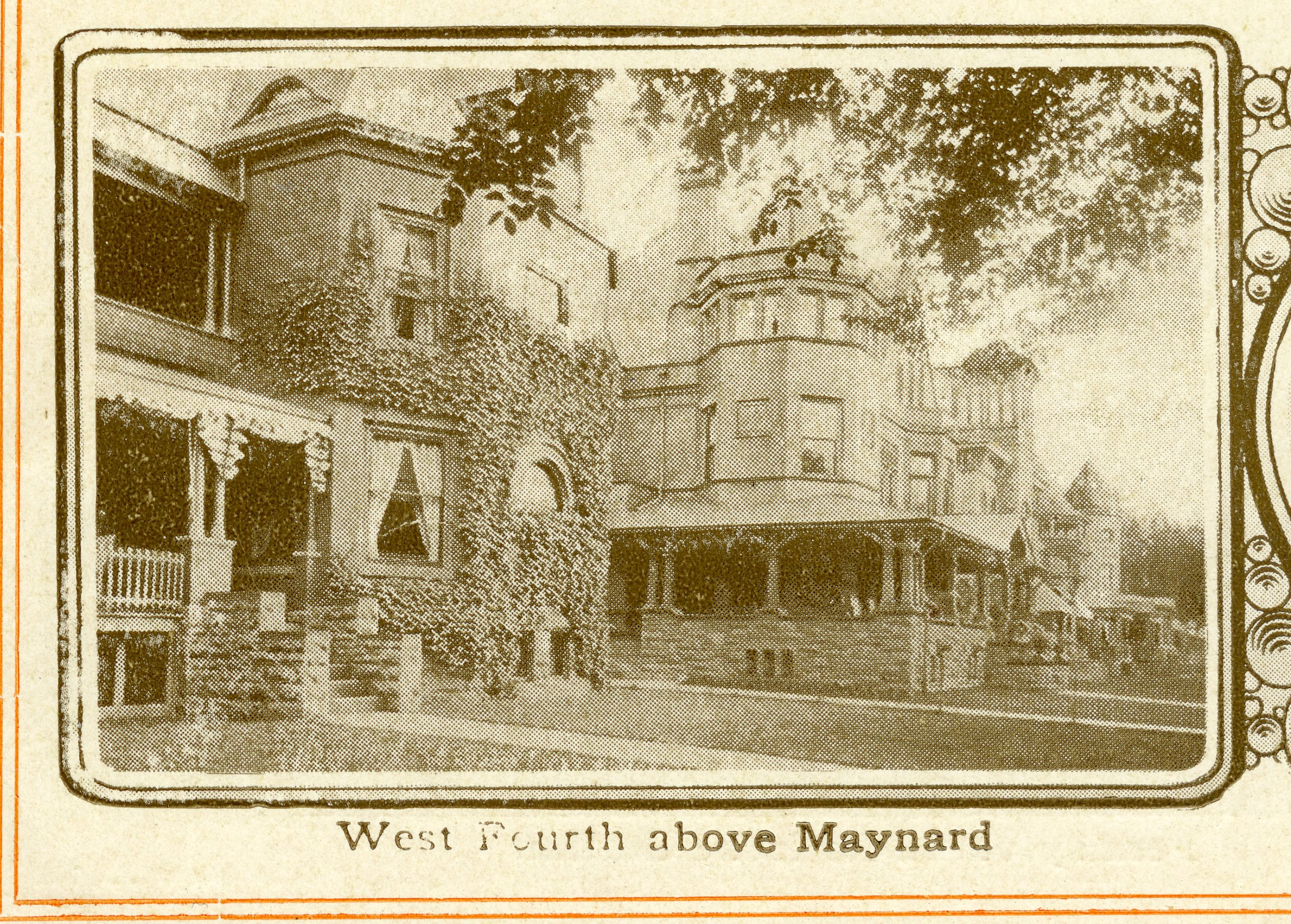 901 West 4th Street feature in Williamsport Brochure (c. 1900)