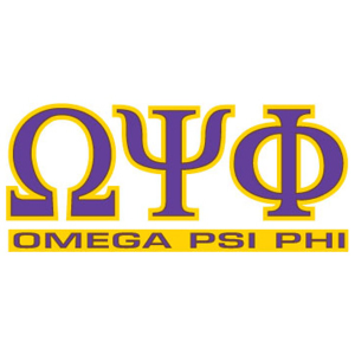 Here is the symbol of Omega Psi Phi that was created at the first meeting of Omega Psi Phi on November 11, 1911.