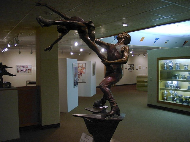 The World Figure Skating Museum and Hall of Fame is the only organization in the world dedicated to the preservation of international skating history.
