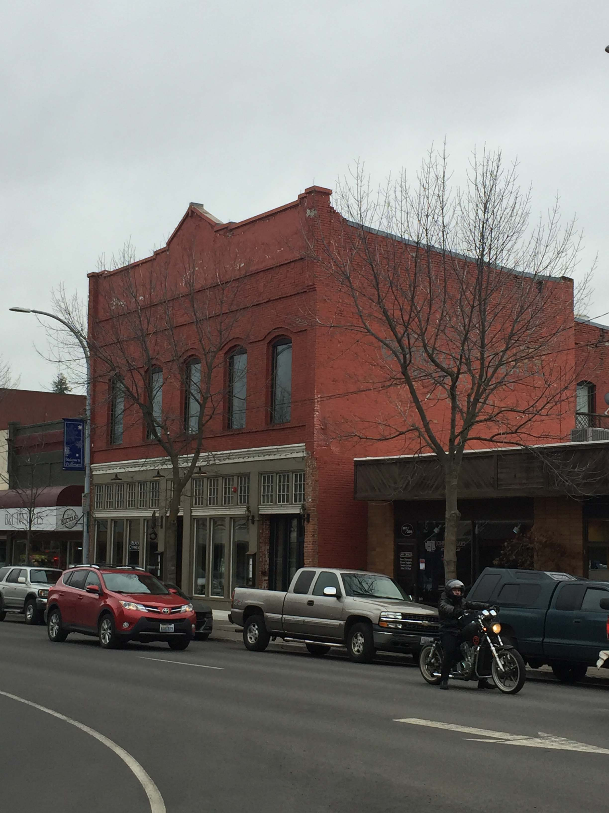 View of the Webb Block, taken February 2018.
