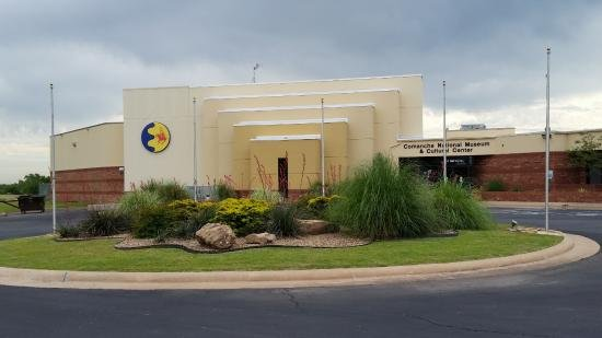 Comanche National Museum and Cultural Center (image from CNMCC)